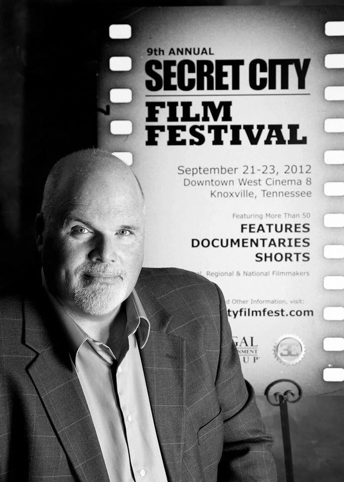 Secret City Film Festival poster - Keith McDaniel