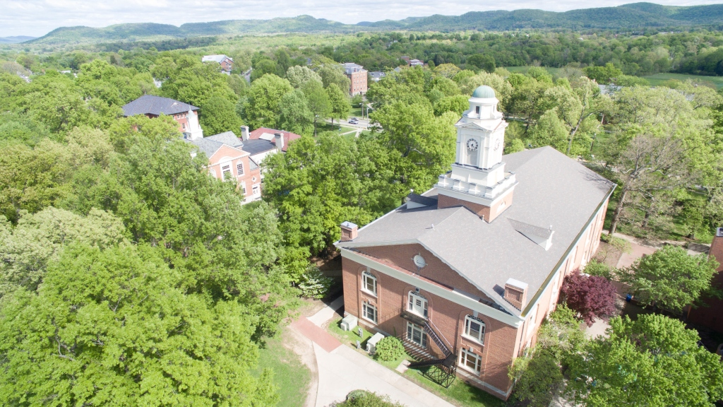 Berea College aerial photo