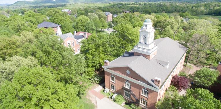 Berea College aerial photo